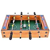 WINMAX Mini Futbolín de Mesa de Madera MDF Durable Juegos 36.5cm x 21.5cm x 9cm...