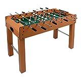 ColorBaby - Mesa futbolín de madera, 121 x 61 x 79 cm (85325)