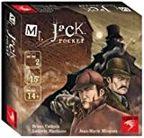Asmodée Halloween Mr Jack Pocket-Español, Color, Talla Única (MRJ04ML)