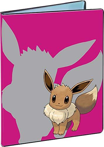 Asmodee- Eevee 4-Pocket Portfolio for Pokemon, Color (84918-P)