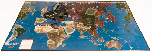 Wizards of the Coast- Axis & Allies 1941-Juego de Mesa sobre Guerra Entre Eje y...