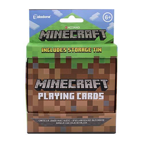 Paladone-PP6587MCF Juego de cartas Minecraft, Multicolor (PP6587MCF) , color/modelo...