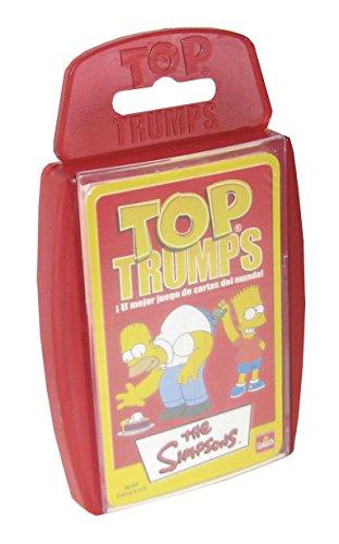 Simpsons - Top Trumps, Juego de Mesa (Goliath 70651)