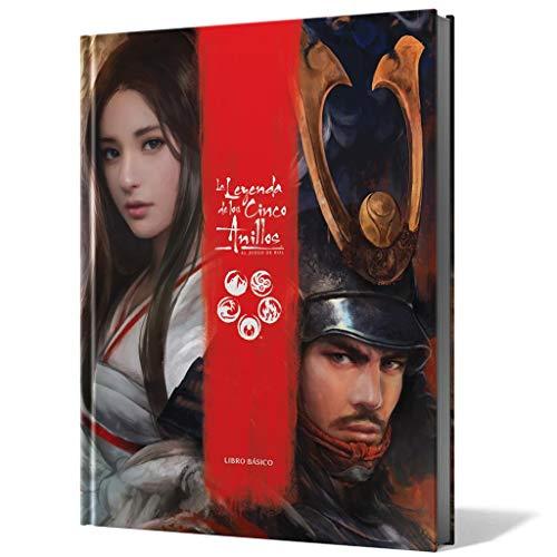Fantasy Flight Games-La Leyenda de los Cinco Anillos El Juego de rol (Asmodee...