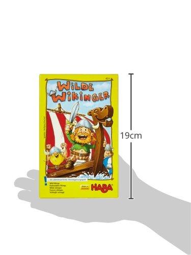 HABA 4511 Wilde Wikinger - Juego Infantil sobre Vikingos (en alemán)
