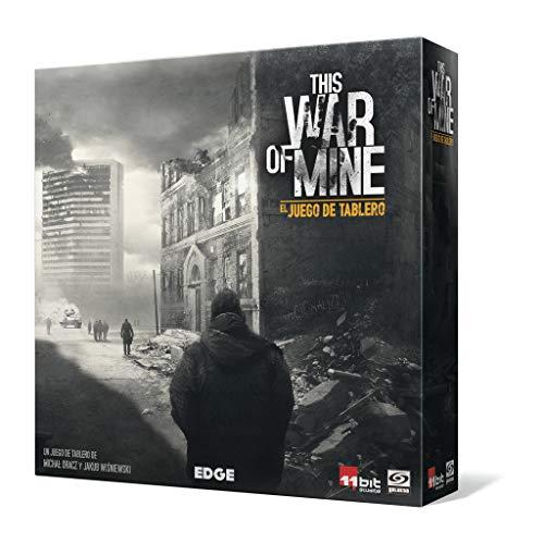 Edge Entertainment- This War of Mine: El juego de tablero - Español, Color...