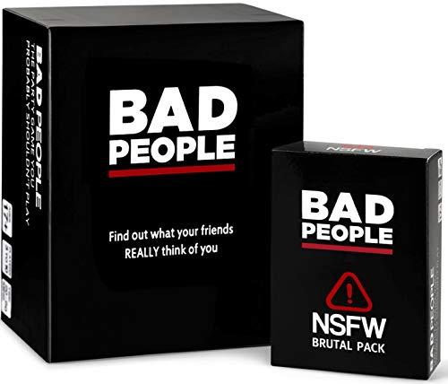 BAD PEOPLE Conjunto Completo (El Juego de Fiesta Que Probablemente no deberías Jugar...