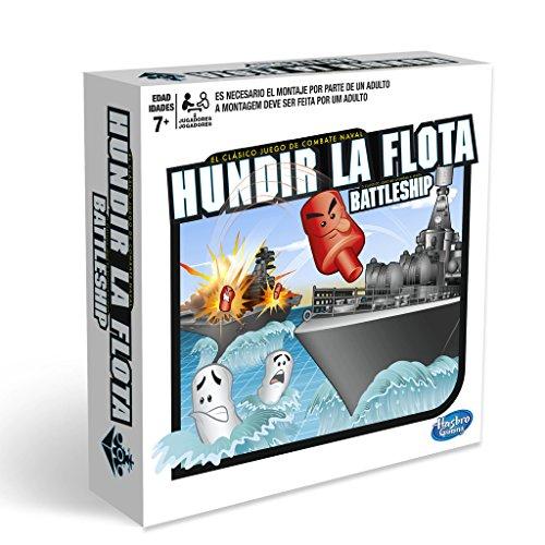 Hasbro Gaming- Hasbro Hundir La Flota, Juego de Tablero, Multicolor, única...