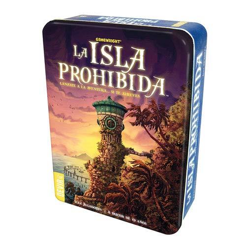 Devir-La Isla Prohibida Juego de Mesa, Multicolor (BGISLA)