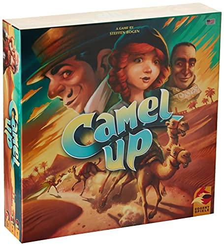 Plan B Games PBGESG50120EN Camel Up: 2nd Edition, Mixed Colors Marrón coloración...