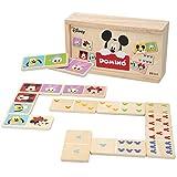 Disney - Domino madera infantil Juego de mesa para niños 2 3 4 años - Juegos de...