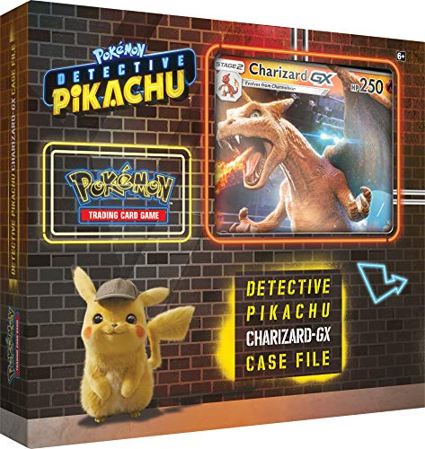 Pokémon POK80535 TCG: Detective Pikachu Charizard-GX Archivo de Casos