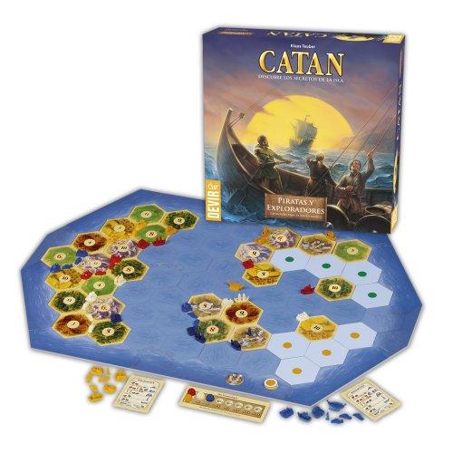 CATAN - Expansión Piratas y Exploradores Juego de Mesa, Multicolor (Devir BGPIREX)