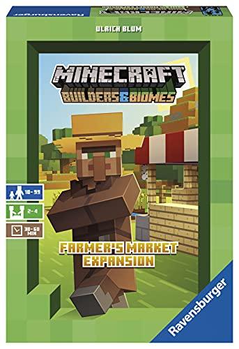 Ravensburger Minecraft Farmer's Market Expansion - Versión española, Light Strategy...