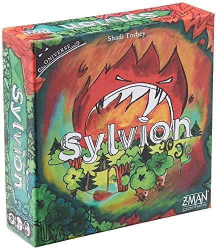 Z-Man Games - Juego de Cartas Sylvion