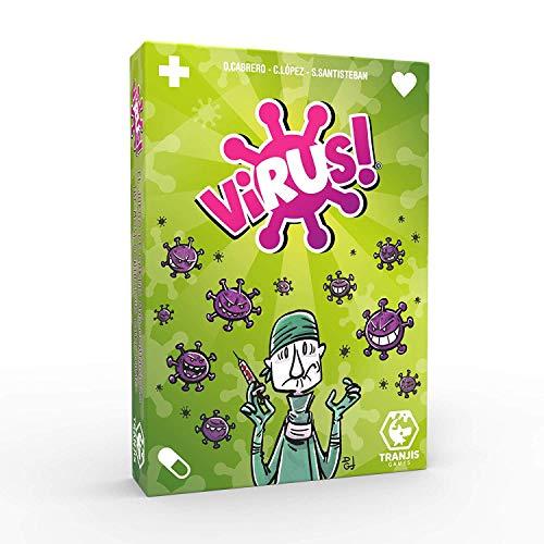 Outletdelocio. Juego de Cartas Virus. El Juego mas contagioso. Edicion Española. +8...