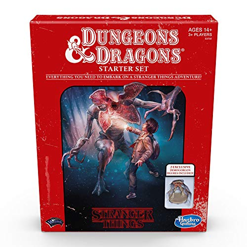 Hasbro Gaming Dungeons & Dragons Stranger Things E3702102, Juego de Iniciación...