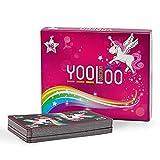 YOOLOO Unicorn – El divertido juego de cartas para niños, padres y amigos de los...