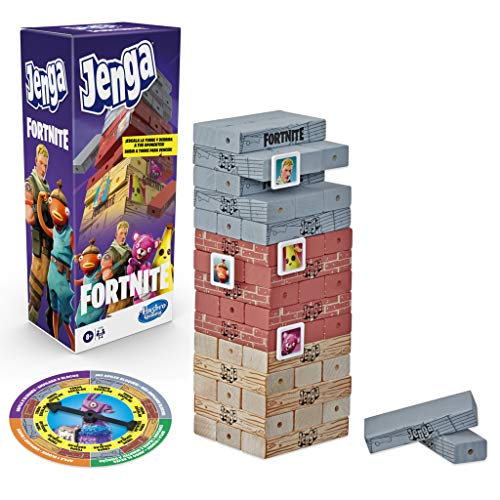 Hasbro Gaming- Jenga Fornite (E9480175)