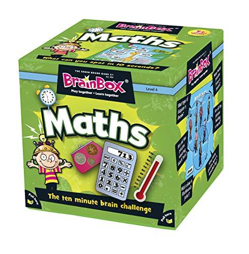 Green Board Games BrainBox Maths - Juego Educativo de matemáticas y de Memoria...