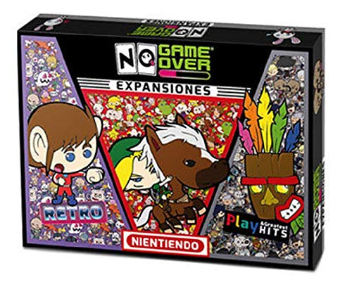 No Game Over- Juego de Mesa 3 Pack Expansiones, Multicolor (0710535488104)