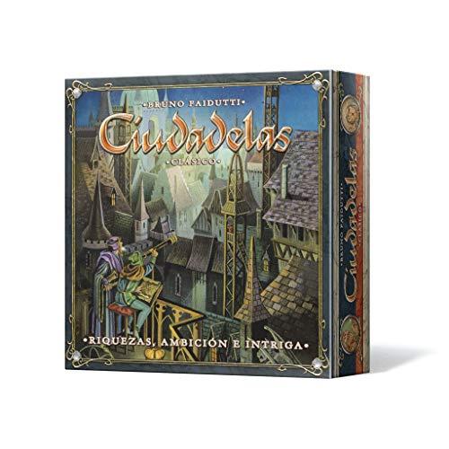 Asmodee - Ciudadelas Clásico, juego de mesa (Edge Entertainment EDGCTD01) ,...