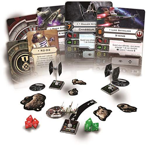 Fantasy Flight Games- Star Wars X-Wing Caja Basica, Color, 32.5 x 25.7 x 6.1 (Edge...