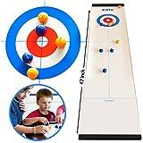 Elite Sportz Curling - Juegos de Mesa con la Familia - Juegos Divertidos para niños...