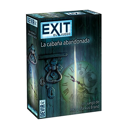 Devir-Exit 1 La cabaña abandonada, Multicolor (BGEXIT1)