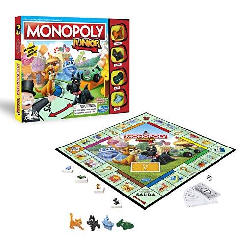Monopoly- Junior, versión Española (Hasbro A6984546)