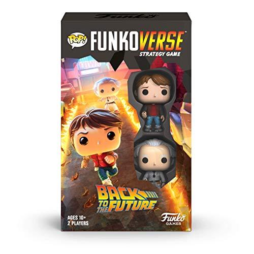 Funko 46068 Pop Funkoverse: Back to The Future-100 Expandalone Juego de Mesa de...