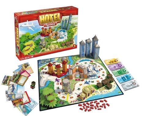 Esdevium Games Juego de Mesa Asmodee Hotel Tycoon, Juegos de Tablero, Los Mejores...