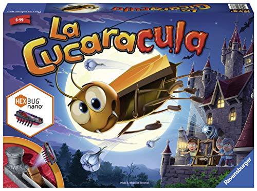 Ravensburger 22336 La Cucaracula, Juego de Mesa, 2-4 Jugadores, Edad 6+, Version en...