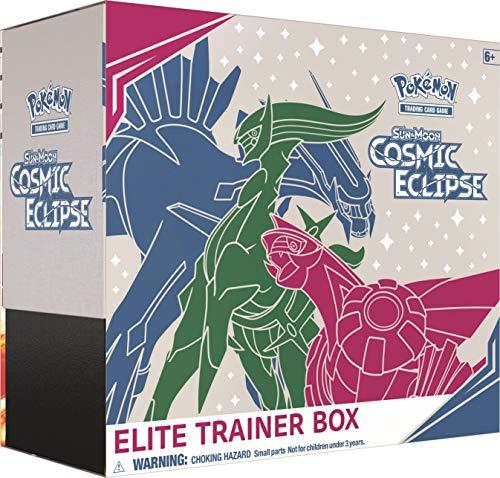 Pokémon POK80605 TCG: Sun & Moon 12 Cosmic Eclipse Elite Trainer Box, colores...
