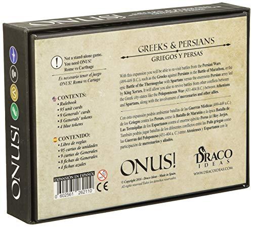 Draco Ideas Ideas-602561262110 Onus Expansion: Griegos y Persas (Español),...