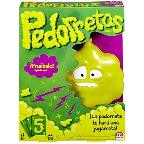 Mattel Games - Pedorretas, Juegos de Mesa Para Niños (Mattel DRY35)