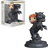 Funko- Pop Vinyl: Movie Moments: Harry Potter S5: Ron Riding Chess Piece Figura...