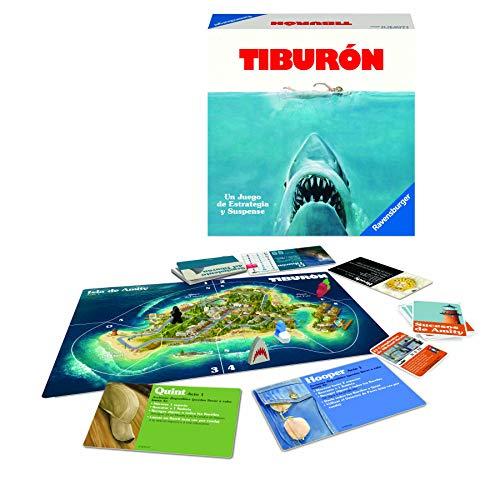 Ravensburger Tiburón, Juego de mesa, Versión Española, 2-4 Jugadores, Edad...