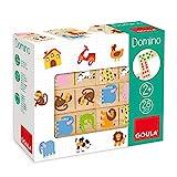 Goula- Zoo Juego Dominó, 28 Piezas, Multicolor (50266)