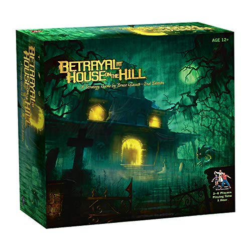 Avalon Hill / Wizards of the Coast 26633 Betrayal at House on the Hill - Juego de...