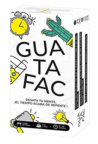 GUATAFAC – Juego de mesa - Juego de cartas para fiestas y risas – Edición...