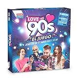 Falomir 90's Love The 90´S Juego de Mesa, Color Azul, 27x27x6.5 (1)