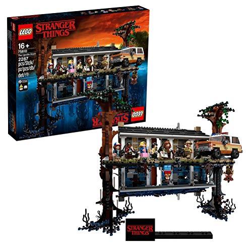 LEGO Stranger Things - Mundo del revés, Set de construcción de la casa de Will,...