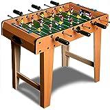 Deuba Futbolín juego de mesa de madera baby foot infantil para niños 18 figuras...