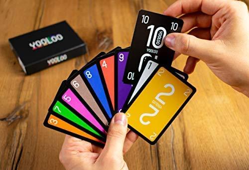 YOOLOO – El Divertido Juego de Cartas para Toda la Familia o para Fiestas – Nueva...