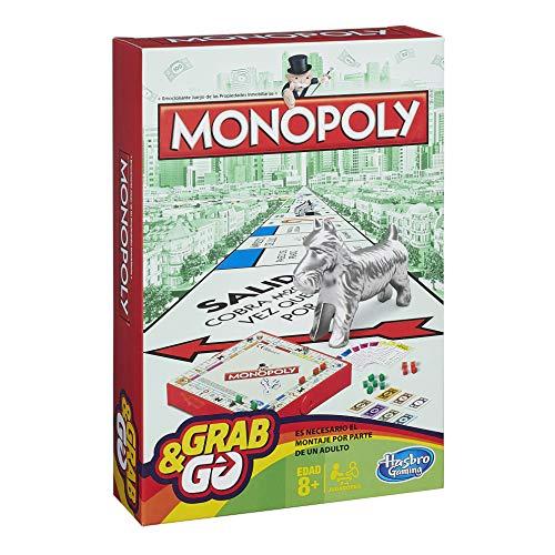Hasbro Gaming Monopoly Juego de Viaje, versión española (B1002105)