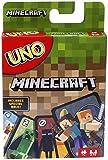 Mattel Games Juego de Cartas UNO Minecraft, Juego de Mesa para niños + 7 años...