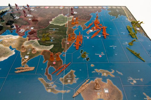 Wizards of the Coast 39687 Axis & Allies 1941 - Juego de Mesa sobre Guerra Entre Eje...