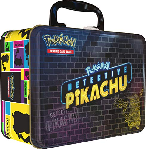 Pokemon POK80538 Pokémon TCG: Detective Pikachu Collector Cofre, Multicolor