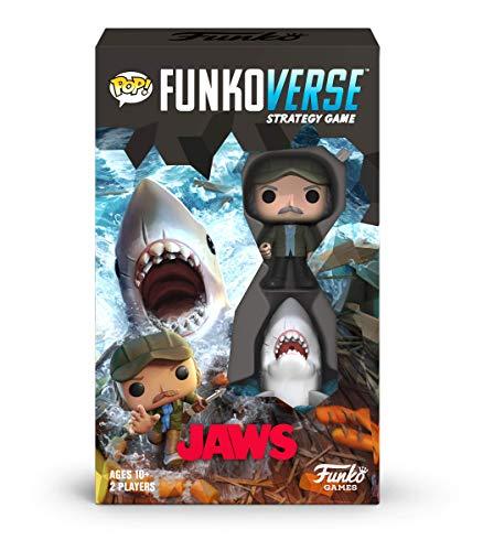 Funko 46069 Pop Funkoverse: Jaws 100-Expandalone Estrategia Juego de Mesa, Multicolor